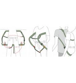 Ременное устройство для переноса пострадавших РУП-«МЕДПЛАНТ»