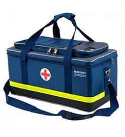 Набор реанимационный для оказания скорой медицинской помощи НРСП-01-«МЕДПЛАНТ» в сумке реанимационной СР-03 с аспиратором