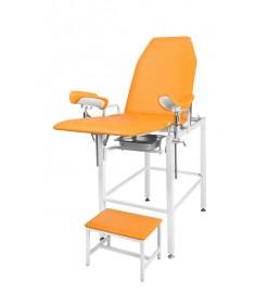 Гинекологическое-урологическое кресло с фиксированной высотой Клер КГФВ 02в со встроенной ступенькой