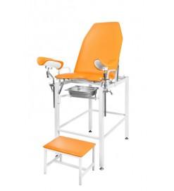 Гинекологическое-урологическое кресло с фиксированной высотой Клер КГФВ 01в с встроенной ступенькой