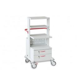 Тележка медицинская функциональная ТМ-9 (для гинекологического кабинета, приборная)