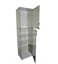 Витрина выставочная стеклянный каркас