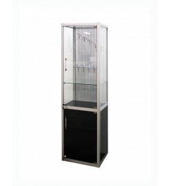 Витрина выставочная алюминиевый каркас для косметики и аксессуаров