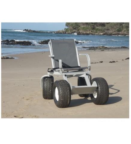 Кресло-коляска повышенной проходимости с колесами высокого давления Hercules
