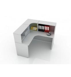 Угловой стол для поста медицинской сестры 106-009-8