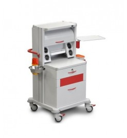 Медицинская тележка стойка ТМ-8 для врача-гинеколога