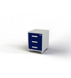 Модуль с ящиками (тумба подкатная, 3 ящика) 106-004-1