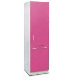 Шкаф медицинский высокий (с выдвижными секциями)