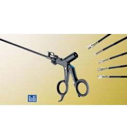 Поворотные биполярные захватывающие щипцы и ножницы ROBI® размером 3,5 мм и 5 мм