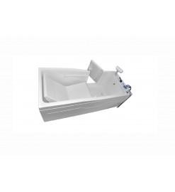 Пароуглекислая ванна Оккервиль Комби с дверцей
