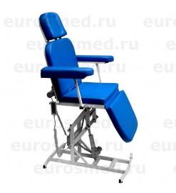 Кресло пациента MedMebel №11м ЛОР, офтальмолог (электропривод)